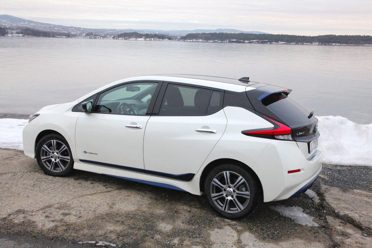#Nissan Leaf #Drive bil og motor. Foto: ©Morten Larsen