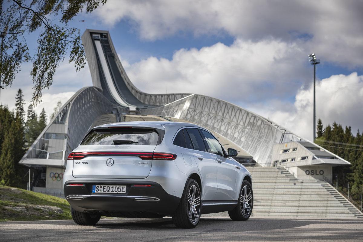 Mercedes-Benz EQC. Foto: Daimler AG