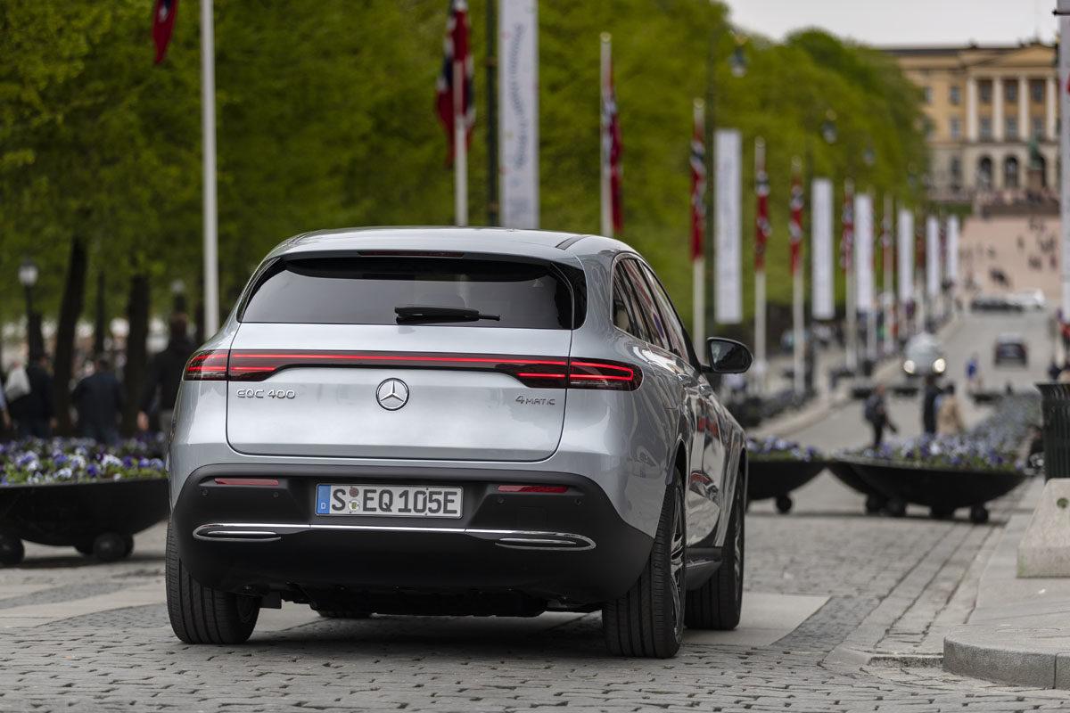 Mercedes-Benz EQC. Foto Daimler AG