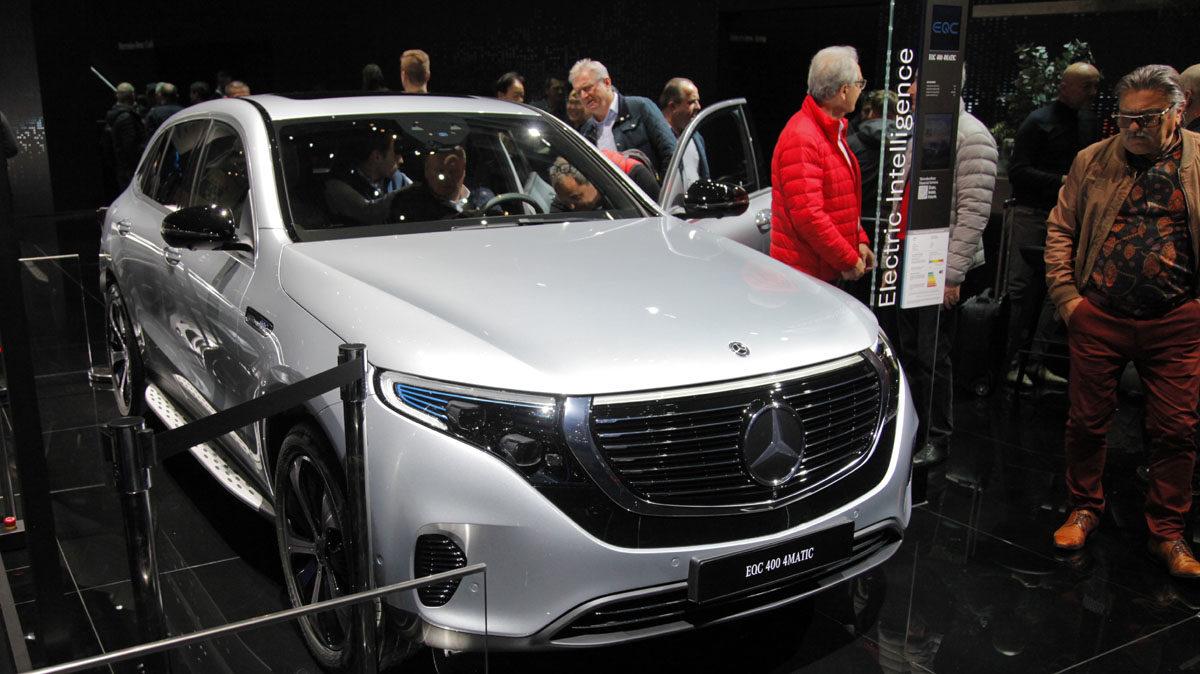 Mercedes-Benz EQC. Foto: ©Morten Larsen