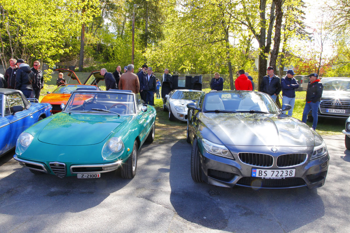 Alfa Romeo og BMW Z4 E89
