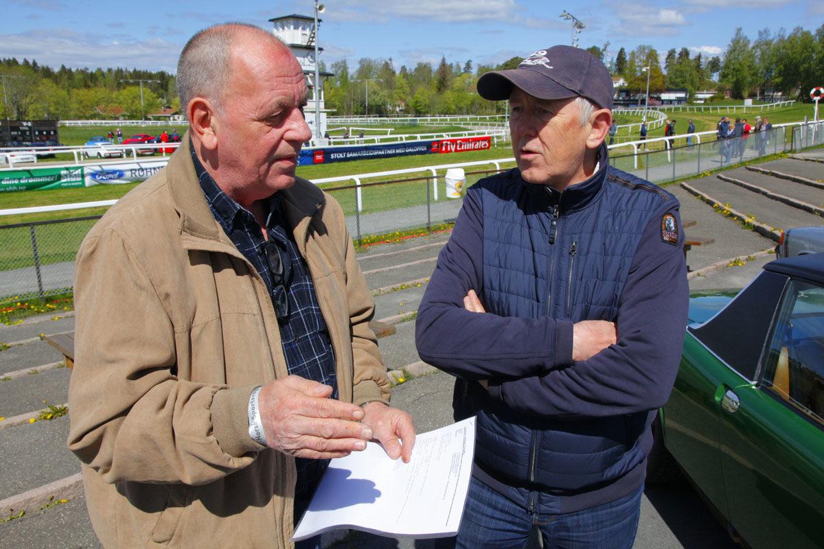 Tore Hartvigsen og Steinar Holmen
