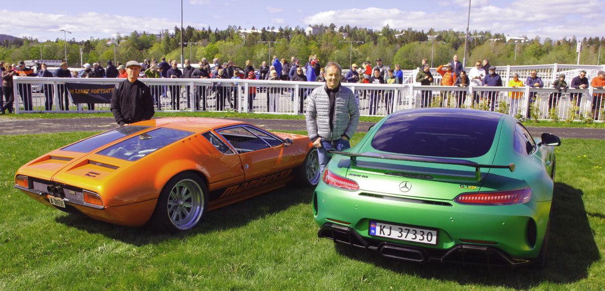 DeTomaso Pantera og Mercedes AMG