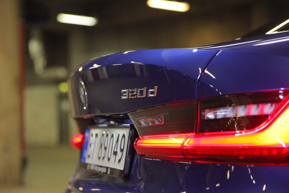 BMW 320d 3-serie sedan. G20