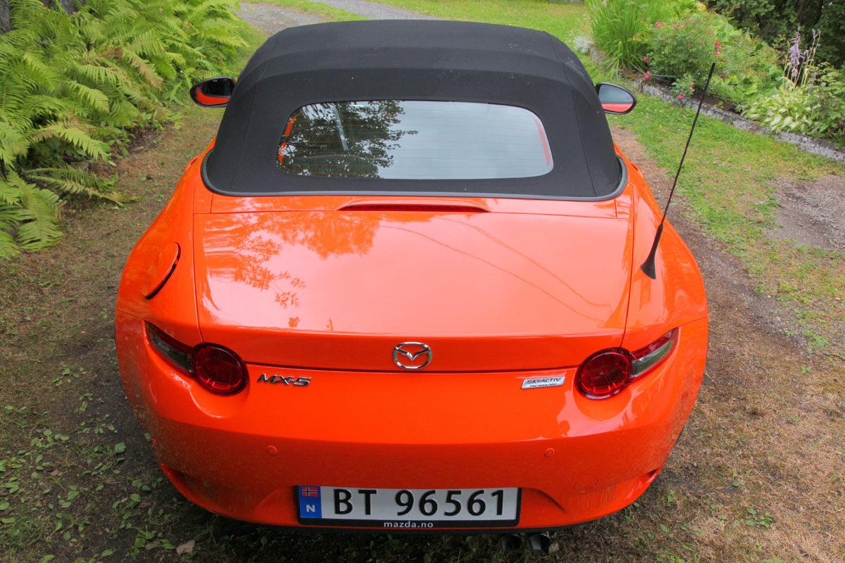 Mazda MX-5 jubileumsmodell. Foto: ©Morten Larsen
