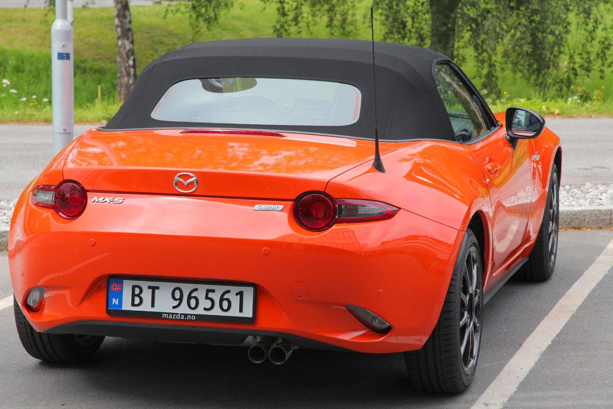 Mazda MX-5 Anniverary Edition. Foto: ©Morten Larsen