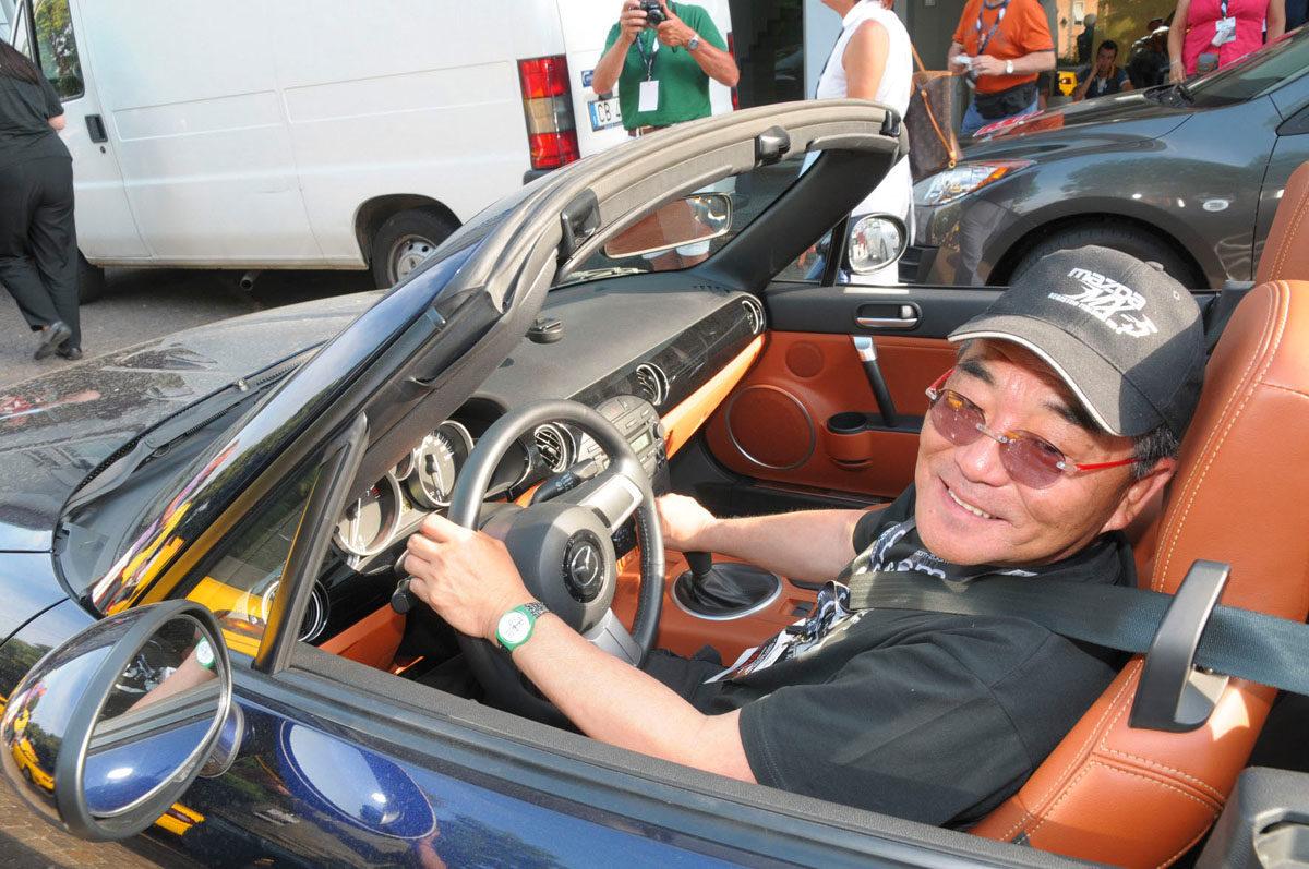 Tom Matano var sentral i utviklingen av Mazda MX-5. Foto: Mazda