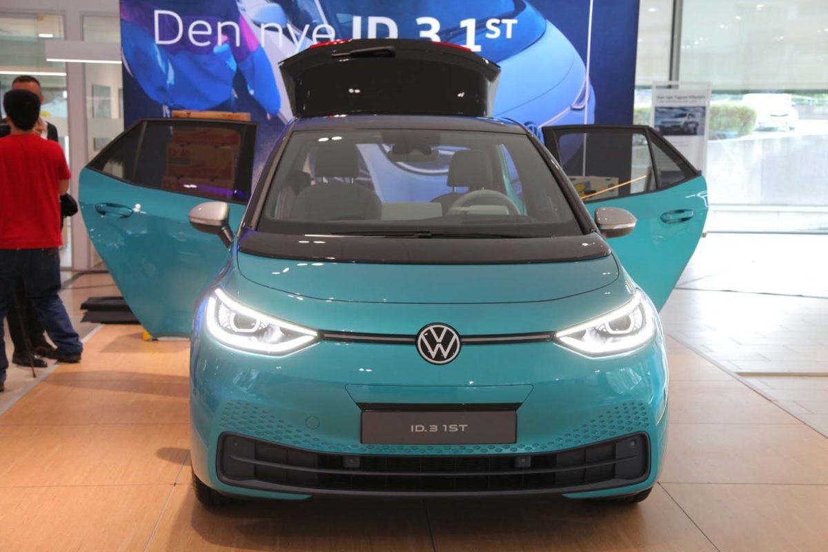 Volkswagen ID.3 1ST. Foto: ©Morten Larsen