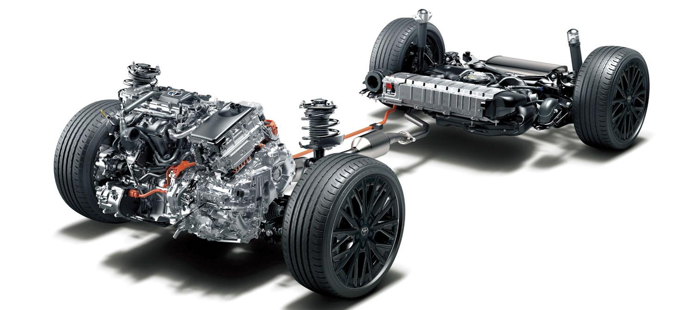 Toyota Hybrid C-HR.
