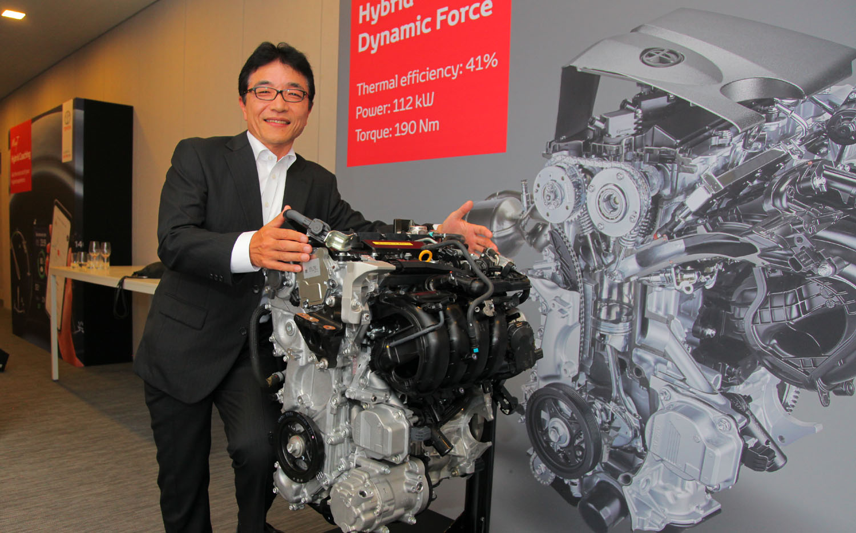 Takamoto Suzuki. Toyota Hybrid C-HR. Foto: ©Morten Larsen