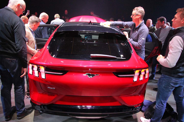Ford Mustang Mach-E  Foto: ©Morten Larsen electric suv
