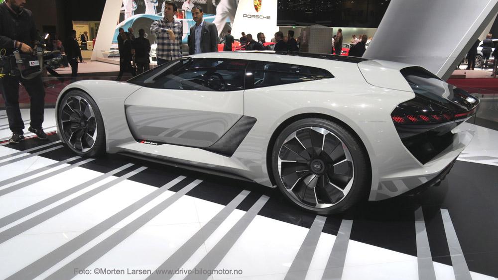 Audi e-tron. Foto: ©Morten Larsen. www.drive-bilogmotor.no elbil