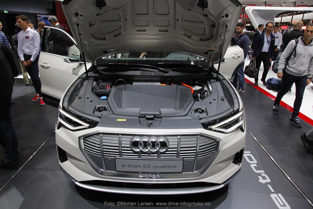 Audi e-tron. Foto: ©Morten Larsen. www.drive-bilogmotor.no. elbil
