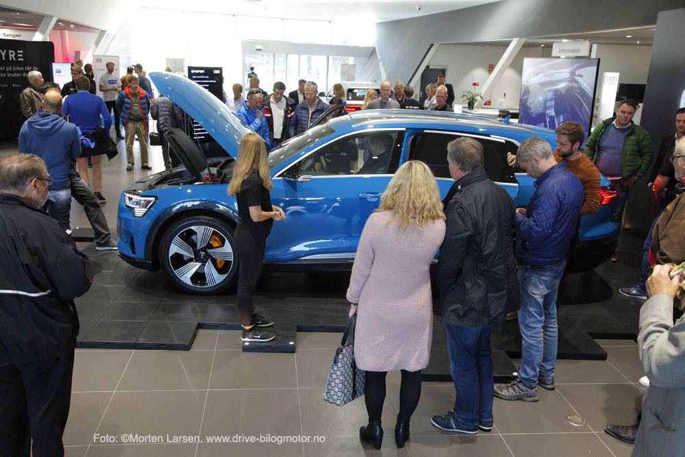 Audi e-tron. Harald A Møller Vest. Kundevisning